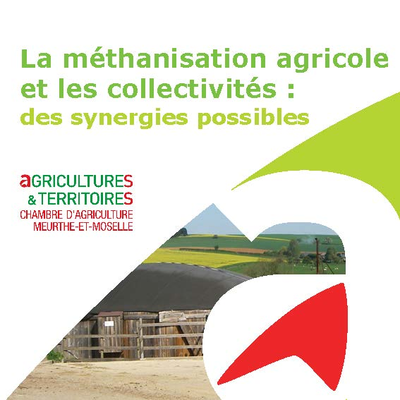 Methanisation agricole et collectivites des synergies - Chambre d agriculture 54 ...